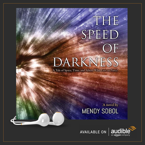 Speed of Darkness audio book cover